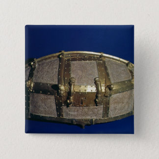 Viking coffer for gold 15 cm square badge