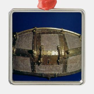 Viking coffer for gold christmas ornament