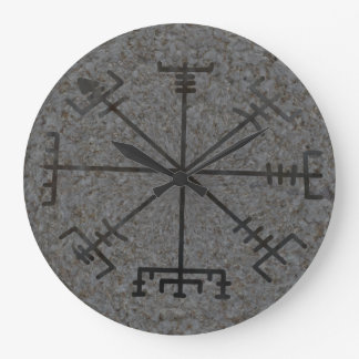 Viking Compass Wall Clock