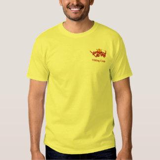 Viking crab tee shirt