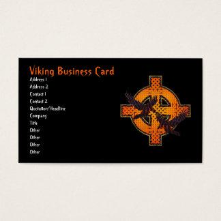 Viking Cross Business Card