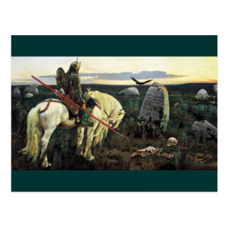 Viking Crosswords Postcard