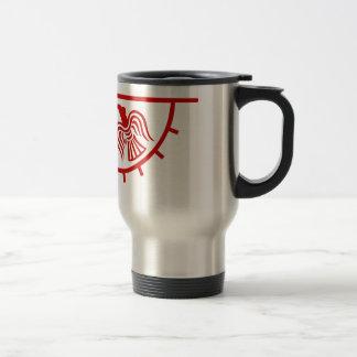 Viking Eagle Banner Travel Mug