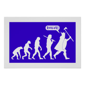 Viking Evolution Posters