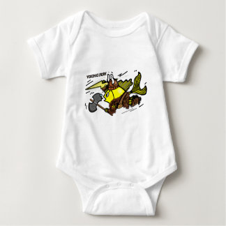 Viking Fish funny cute sparky comics medieval T-shirts