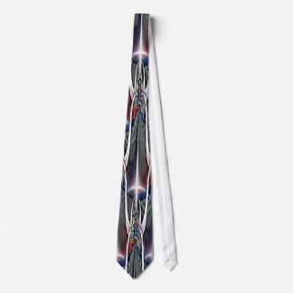 Viking Fractal Art Tie