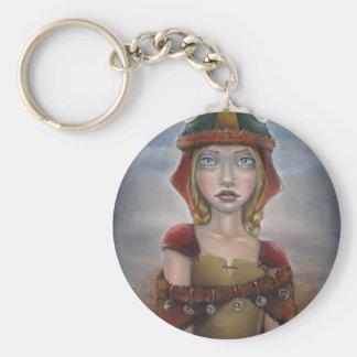 Viking Girl Key Chains