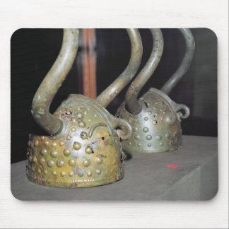 Viking helmet mouse mat