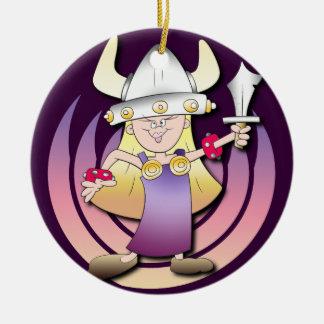 Viking Heroine Christmas Ornament