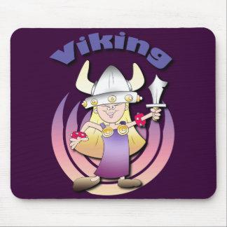 Viking Heroine Mouse Mat