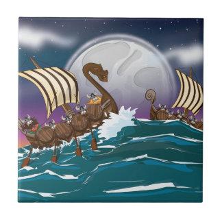 Viking Invasion Fleet Tiles