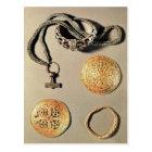 Viking jewellery TtoB LtoR Postcard