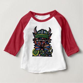 """""""Viking Kat"""" Baby 3/4 Raglan T-Shirt"""