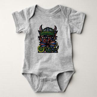 """""""Viking Kat"""" Baby Jersey Bodysuit"""