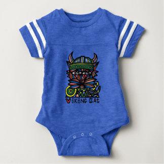 """Viking Kat"" Baby Sport Bodysuit"