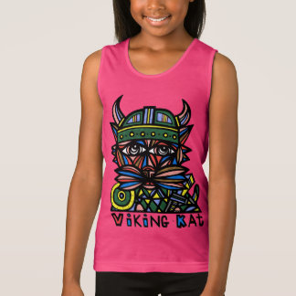 """Viking Kat"" Boys' Girls' Tank Top"