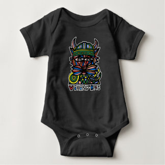 """Viking Kat"" BuddaKats Baby Jersey Bodysuit"