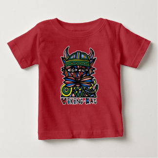 """Viking Kat"" BuddaKats Baby T-Shirt"