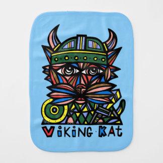 """Viking Kat"" Burp Cloth"