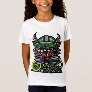 """Viking Kat"" Girls' Fine Jersey T-Shirt"
