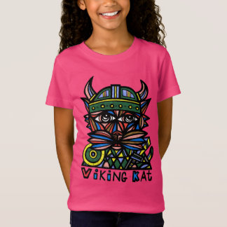 """Viking Kat"" Girls' T-Shirt"