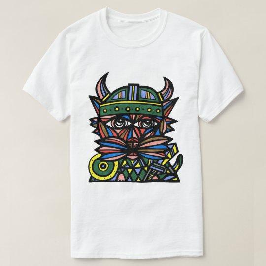 """Viking Kat"" Men's T-Shirt"