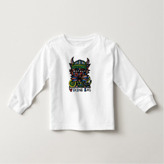 """Viking Kat"" Toddler Long Sleeve Toddler T-Shirt"