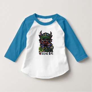 """""""Viking Kat"""" Toddler Raglan T-Shirt"""
