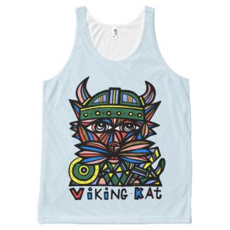 """""""Viking Kat"""" Unisex Tank Top"""