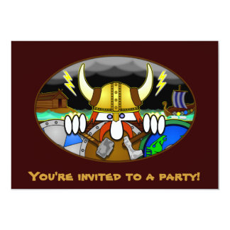 Viking Kilroy Invitations