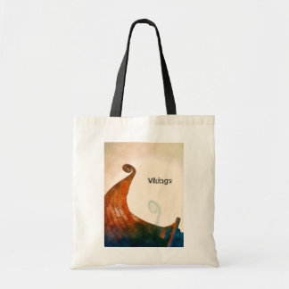 Viking Longship Tail Tote Bag