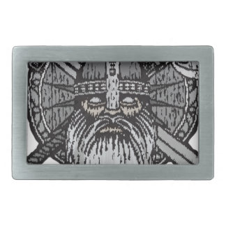 viking man germanic nordic norse runic rectangular belt buckles