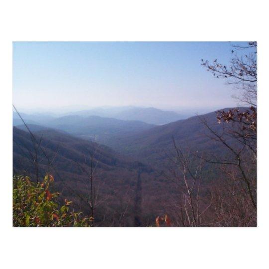 Viking Mountain Overlook Postcard