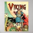 Viking Norse Gods Thor Hoodies Poster