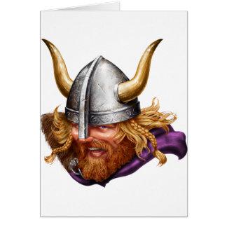 Viking, Norse, Norsemen Card