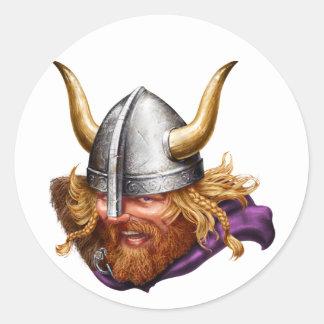 Viking, Norse, Norsemen Round Sticker