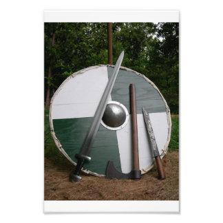 Viking Photographic Print
