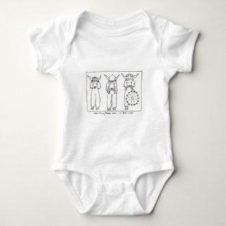 Viking Poodle Baby Bodysuit
