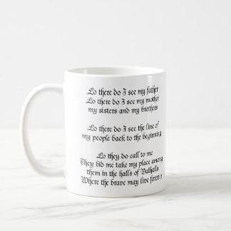 Viking Prayer Coffee Mug