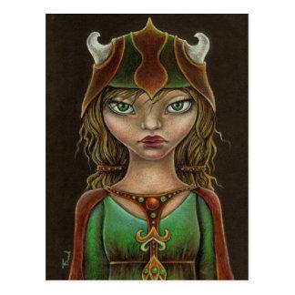 Viking princess postcards