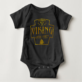 Viking Ragnarok Special Forces Baby Bodysuit
