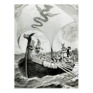 Viking Raiders Postcard
