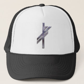 Viking Rune-luck-silver Trucker Hat