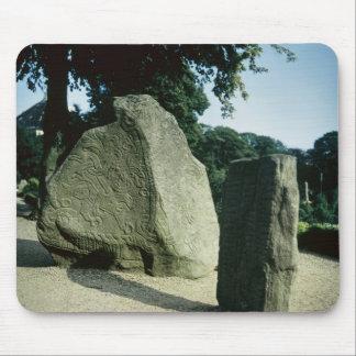 Viking rune stones mouse mat