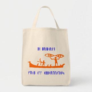 Viking Runic Orange Bag