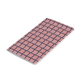 Viking Sail Pattern Pocket Journal