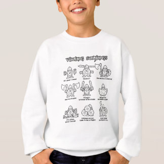 Viking Sayings Sweatshirt