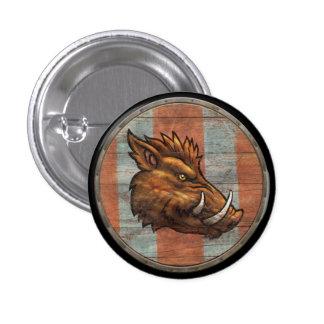 Viking Shield Button - Boar