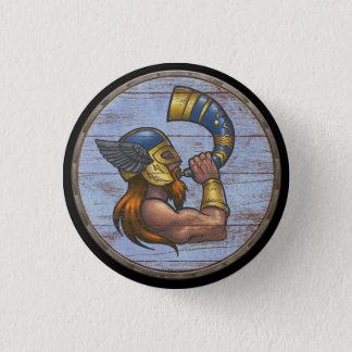 Viking Shield Button - Heimdallr