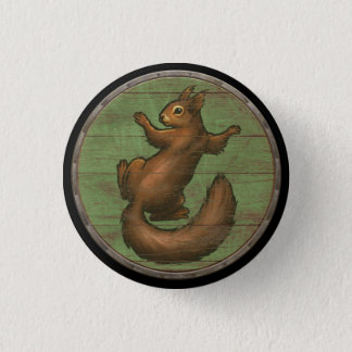 Viking Shield Button - Ratatoskr
